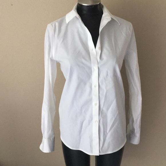 d0ae76e0b1 Jones New York Tops - Jones New York white button down Shirt S